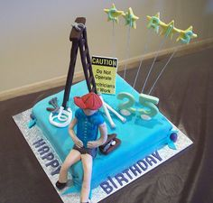 Electrician's tools of trade Birthday Cake by Susie's Cakes (the baking bug's back!), via Flickr