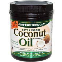 Jarrow Formulas, Extra Virgin Coconut Oil, 16 oz (454 g) - iHerb.com. Bruk gjerne rabattkoden min (CEC956) hvis du vil handle på iHerb for første gang. Da får du $5 i rabatt på din første ordre (eller $10 om du handler for over $40), og jeg blir kjempeglad, siden jeg får poeng som jeg kan handle for på iHerb. :-)