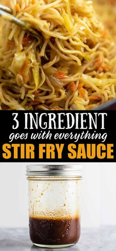 Easy and versatile homemade stir fry sauce recipe – perfect for making takeout style dinners at home! Easy and versatile homemade stir fry sauce recipe – perfect for making takeout style dinners at home! Asian Recipes, New Recipes, Vegetarian Recipes, Healthy Recipes, Recipies, Vegetarian Appetizers, Recipes With Sesame Oil, Recipes Dinner, Cooking With Sesame Oil
