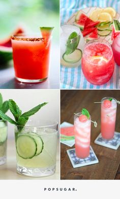The 15 Most Refreshing Cocktails Made With Your Favorite Summer Produce