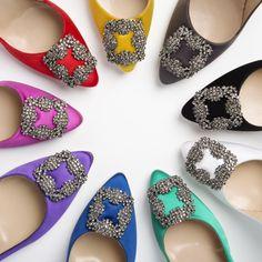 Manolo Arti Arti Arti blahnik #Shoes #Rainbow
