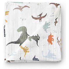 Large Summer Baby Muslin Blanket Swaddle Wrap Dinosaur /& Tropical Bamboo Muslin Swaddle Blankets for Boys 2 PackDinosaur /& Tropical Bamboo Cotton Baby Boy Blanket Toddler Blanket