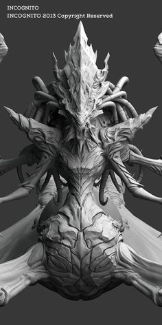 Devil Demon by Junoon Nayak, via Behance