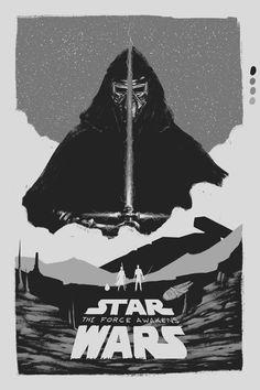 Fan art for Star Wars Force Awakens