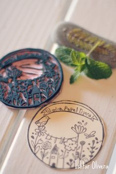 This is such a beautiful handmade stamp!