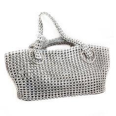 "Mima's Of Warwick - Soda Tab Purse ""Gail"" Bag | Large, $264.00 (http://www.mimasofwarwick.com/soda-tab-purse-gail-bag-large/)"