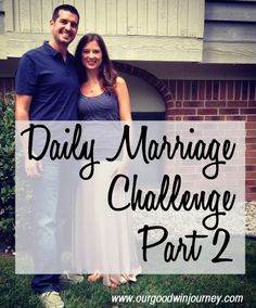 Daily Marraige Challenge {part 2} #marriage #happywivesclub
