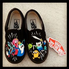 Hey, I found this really awesome Etsy listing at https://www.etsy.com/listing/130095539/adventure-time-childrens-shoes-finn-and
