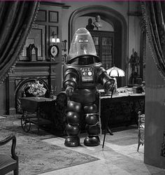 Robby the Robot from the Twilight Zone. Oh the memories.