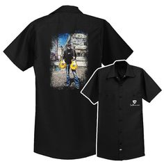 A Moment In Time Dickies Short Sleeve Work Shirt Dickies Shorts, Joe Bonamassa, Les Paul Standard, A Moment In Time, Blues Rock, Work Shirts, New T, Back Home, Two By Two