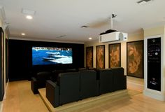 Plan For Home Theatre Design -- E Marketing & Home Services ...