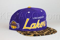 Lakers Snapback | Los Angeles Lakers Snapback Cheetah Vintage Swag Snapback Tisa Don C ...