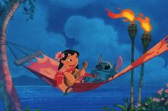Lilo and Stitch i love this moviee