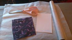 Pieni Sisustaja Näpertää: Servetin kiinnittäminen paperille/ kartongille Plastic Cutting Board, Diy Ideas, Craft Ideas