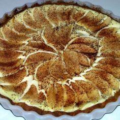 Rahka-Omenapiirakka - Kotikokki.net - reseptit Finnish Recipes, Yummy Eats, I Love Food, Apple Pie, Tart, Goodies, Food And Drink, Sweets, Baking