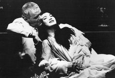Antony Hopkins and GG Goei in M. Photo via Theatricalia. Sir Anthony, Anthony Hopkins, Love And Respect, Cool Pictures, Acting, American, Butterfly, Theater, Stage