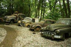Michael Fröhlich's Auto Skulpturen Park, a museum/sculpture park in Mettmann, Germany