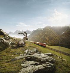 #14 Rhaetian Railway (Italy to Switzerland)