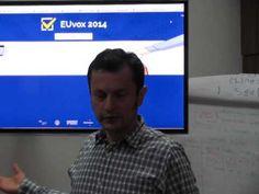 VIDEO Euvox 2014, aplicaţia gratuită din toate statele UE care îţi spune ce partid îţi reprezintă cel mai bine interesele