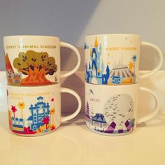 ✨✨ #waltdisneyworld #disney #disneymugs #mugs #starbucks