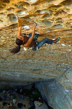 Red River Gorge, Kentucky... Need a trip here! Looks like a fun climb