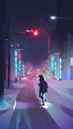 Environments - Jenny Yu   Illustration and Design