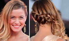 penteados de lado das famosas - Pesquisa Google