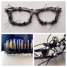 Pin & Thread: Glasses by Heidi Nicole