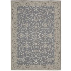 Nourison Eclipse ECL03 Blue Area Rug  http://www.arearugstyles.com/nourison-eclipse-ecl03-blue-area-rug.html