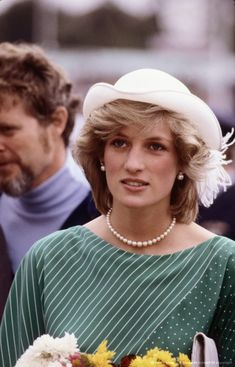 April 18, 1983: Princess Diana at a display of dancing by Children and Maori Communities at Eden Park Stadium in Auckland, New Zealand.