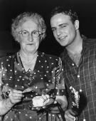 I love this pic of Marlon Brando and his auntie June celebrating his birthday. Getty Images. http://www.gettyimages.ie/detail/news-photo/american-actor-marlon-brando-smiles-beside-his-aunt-mrs-news-photo/3233780