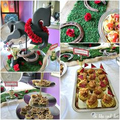 derby food | Kentucky Derby Party - The Blue Eyed Dove