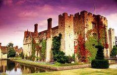 Hever Castle - Kent. Childhood home of Anne Boleyn (Book IV - The Boleyn Heresy)