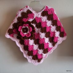Crochet Poncho, Poncho Sweater, Blanket, Sweaters, Ponchos, Amigurumi, Blankets, Pullover, Sweater