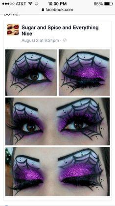 Fun Halloween eyes.