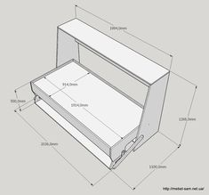 it side folding italian wall bed desk from murphysofa dimensions murphy bed pinterest. Black Bedroom Furniture Sets. Home Design Ideas
