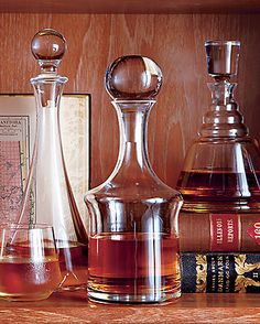 Stock the Bar  Vintage spirits at Crate and Barrel