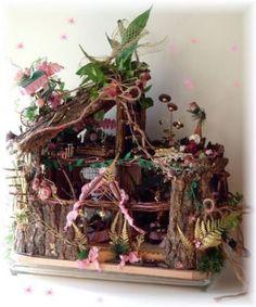 sweet custom design homes. Fairy house Whimsical Sweet Custom Doll Cottage  dolls and