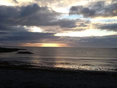 Sunset at Cula bay Benbecula Have spent many a day at this beautiful beach!