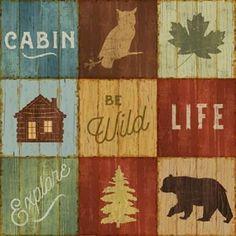 """Metaverse Art """"Be Wild"""" Lake Lodge Viii Framed Wall Art, Brown Frames On Wall, Framed Wall Art, Canvas Wall Art, Wall Art Prints, Canvas Prints, Canvas Canvas, Canvas Size, Wall Decal, Poster Prints"""