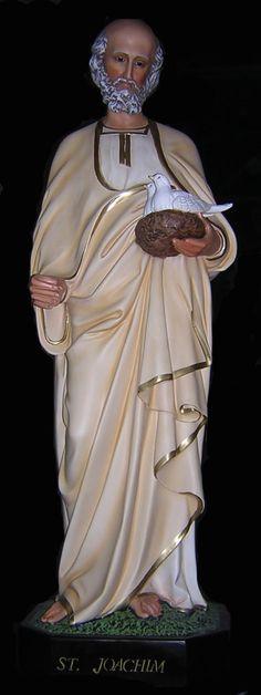 Citta Cattolica: Statue: Santi Maschi in Vetroresina, Resina Gesso 2° Parte