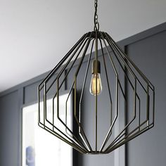 Union Pendant in Chandeliers & Pendants   Crate and Barrel