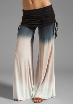 Sierra Pant in Black Sunset Ombre | Young, Fabulous & Broke
