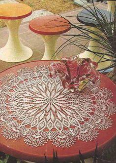 "Patrón #160: Tapete ""Primoroso"" a Crochet  #crochet  http://blgs.co/pG94Qn"