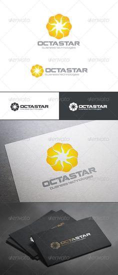 Sun Star Loop Infinity Logo Abstract — Photoshop PSD #loop #simple