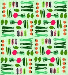 Plakplastic Kitsch Kitchen retro print Porre