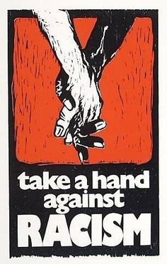 Title: Take a Hand Against Racism Artist/creator: Mervyn Williams Production date: 1985 Medium: silkscreen Dimensions: 508 x 310 mm Protest Posters, Protest Art, Trump Quotes, Quotes Quotes, Refugees, Stop Racism, Together Quotes, Interracial Love, Concert Posters