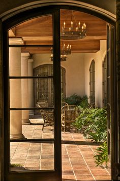 Gabriel Builders - mediterranean - porch - other metros - Gabriel Builders Inc.