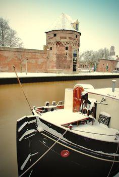 Wijndragerstoren Zwolle. Photo by Egwin Frieling
