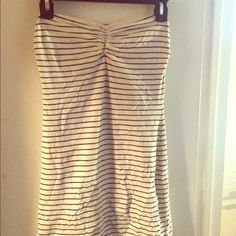 Forever21 Striped Bodycon Mini Dress It's a fitted tube dress and top is not padded Forever 21 Dresses Mini